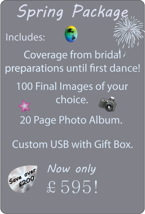 Spring Wedding Package, Special Offer